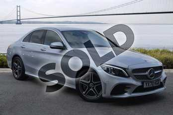 Mercedes-Benz C Class C 300 d AMG Line Edition in iridium silver metallic at Mercedes-Benz of Hull