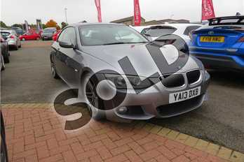 BMW 3 Series 325d M Sport 2dr Step Auto in Metallic - Space grey at Listers Toyota Grantham