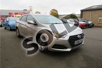 Hyundai i40 1.7 CRDi Blue Drive SE Nav 4dr in Metallic - Platinum silver at Listers Toyota Grantham