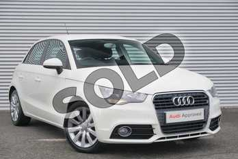 Audi A1 1.6 TDI Sport 5dr in Amalfi White at Coventry Audi