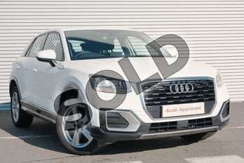 Audi Q2 1.0 TFSI Sport 5dr in Ibis White at Coventry Audi