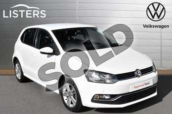 Volkswagen Polo 1.2 TSI Match Edition 5dr in Pure white at Listers Volkswagen Evesham