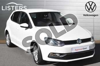 Volkswagen Polo 1.0 75 Match Edition 5dr in Pure white at Listers Volkswagen Evesham