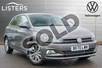 Volkswagen Polo 1.0 TSI 95 Match 5dr in Limestone Grey at Listers Volkswagen Leamington Spa