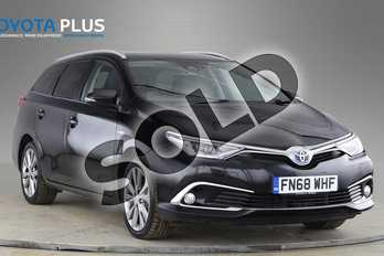 Toyota Auris 1.8 Hybrid Excel TSS 5dr CVT (Leather) in Eclipse Black at Listers Toyota Coventry