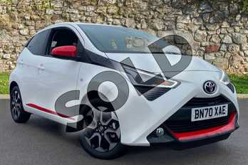 Toyota AYGO 1.0 VVT-i X-Trend TSS 5dr in Pure White at Listers Toyota Coventry
