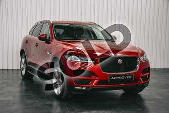 Jaguar F-PACE 2.0 i4 Diesel (180PS) Portfolio AWD in Firenze Red at Listers Jaguar Solihull