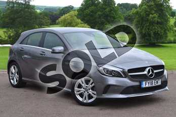Mercedes-Benz A Class A180d Sport Premium 5dr Auto in Mountain Grey at Mercedes-Benz of Grimsby