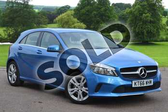 Mercedes-Benz A Class A180 Sport 5dr Auto in South Seas Blue at Mercedes-Benz of Grimsby