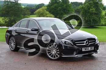 Mercedes-Benz C Class C220d AMG Line Premium Plus 4dr Auto in Obsidian Black Metallic at Mercedes-Benz of Grimsby