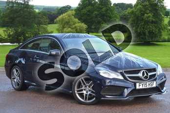 Mercedes-Benz E Class E350 BlueTEC AMG Line 2dr 9G-Tronic in Cavansite Blue metallic at Mercedes-Benz of Grimsby