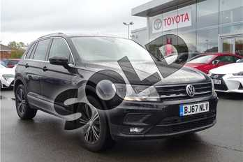 Volkswagen Tiguan 1.4 TSI 125 SE Nav 5dr in Pearl - Deep black at Listers Toyota Lincoln