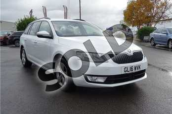 Skoda Octavia 1.6 TDI CR 110 SE L 5dr in Metallic - Moon white at Listers Toyota Lincoln