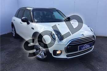 MINI Clubman 2.0 Cooper D 6dr (Tech Pack) in Solid - Pepper White at Listers U Solihull