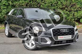 Audi Q2 35 TFSI Sport 5dr S Tronic in Myth Black Metallic at Worcester Audi