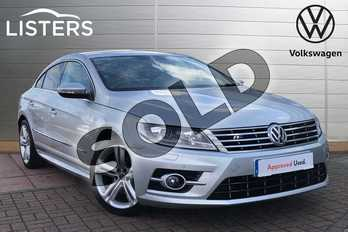 Volkswagen CC 2.0 TDI 177 BlueMotion Tech R Line 4dr in Reflex silver at Listers Volkswagen Loughborough