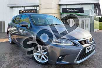 Lexus CT 200h 1.8 Premier 5dr CVT Auto in Grey at Lexus Cheltenham