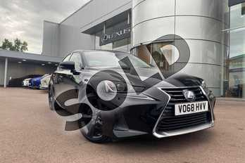 Lexus IS 300h Sport 4dr CVT Auto in Black at Lexus Cheltenham