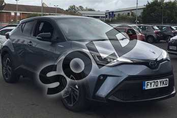 Toyota C-HR 2.0 Hybrid Dynamic 5dr CVT in Satin Grey at Listers Toyota Lincoln