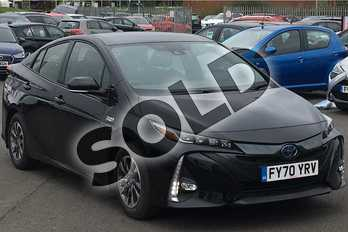 Toyota Prius 1.8 VVTi Business Edition Plus 5dr CVT in Black at Listers Toyota Lincoln