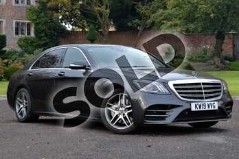 Mercedes-Benz S Class S350d L AMG Line Executive 4dr 9G-Tronic in Magnetite Black metallic at Mercedes-Benz of Lincoln