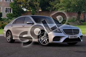 Mercedes-Benz S Class S350d L AMG Line Executive 4dr 9G-Tronic in Iridium Silver metallic at Mercedes-Benz of Lincoln