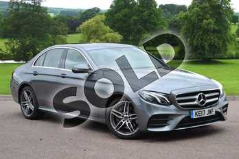 Mercedes-Benz E Class E220d AMG Line 4dr 9G-Tronic in selenite grey metallic at Mercedes-Benz of Grimsby