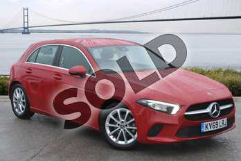 Mercedes-Benz A Class A180d Sport Executive 5dr Auto in Jupiter Red at Mercedes-Benz of Hull