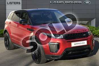 Range Rover Evoque 2.0 TD4 (180hp) HSE Dynamic in Firenze Red at Listers Land Rover Droitwich