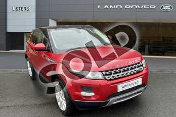 Range Rover Evoque 2.2 SD4 (190hp) Pure TECH in Firenze Red at Listers Land Rover Hereford