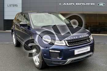 Range Rover Evoque 2.0 TD4 (180hp) SE Tech in Loire Blue at Listers Land Rover Hereford