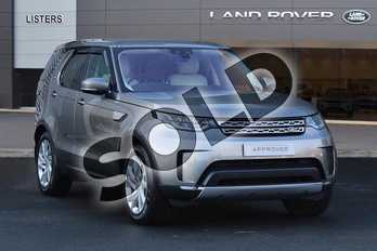 Land Rover Discovery 3.0 TD6 (258hp) HSE in Silicon Silver at Listers Land Rover Hereford