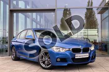 BMW 3 Series 335d xDrive M Sport 4dr Step Auto in Estoril Blue at Listers King's Lynn (BMW)