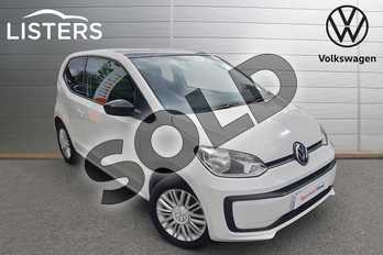 Volkswagen Up 1.0 Move Up 3dr in White - Black Roof at Listers Volkswagen Worcester
