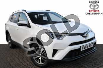 Toyota RAV4 2.0 D-4D Active 5dr 2WD in Pure White at Listers Toyota Cheltenham