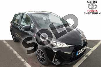 Toyota Yaris 1.5 Hybrid Icon Tech 5dr CVT in Black at Listers Toyota Cheltenham