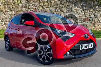 Toyota AYGO 1.0 VVT-i X-Plore 5dr in Red Pop at Listers Toyota Coventry