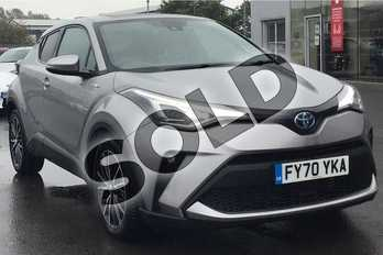 Toyota C-HR 2.0 Hybrid Excel 5dr CVT in Metal Stream at Listers Toyota Lincoln