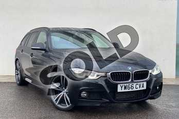 BMW 3 Series 320d xDrive M Sport 5dr Step Auto in Black Sapphire metallic paint at Listers King's Lynn (BMW)
