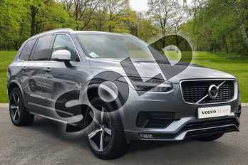 Volvo XC90 2.0 D5 PowerPulse R DESIGN 5dr AWD Geartronic in Osmium Grey at Listers Volvo Worcester