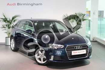Audi A3 1.0 TFSI Sport 5dr in Cosmos Blue, metallic at Birmingham Audi