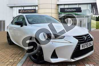 Lexus IS 300h 4dr CVT Auto in White at Lexus Cheltenham