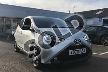 Toyota AYGO 1.0 VVT-i X-Trend TSS 5dr x-shift in Silver at Listers Toyota Stratford-upon-Avon