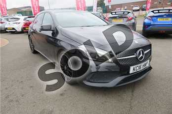 Mercedes-Benz A Class A180 AMG Line Premium 5dr in Metallic - Cosmos Black at Listers Toyota Grantham