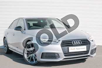 Audi A4 2.0 TDI 190 S Line 4dr S Tronic in Floret Silver Metallic at Coventry Audi