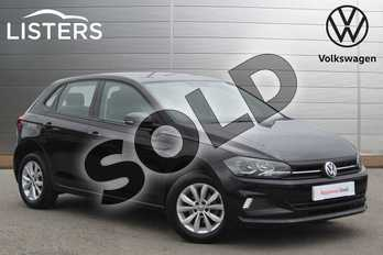 Volkswagen Polo 1.0 SE 5dr in Deep Black at Listers Volkswagen Nuneaton