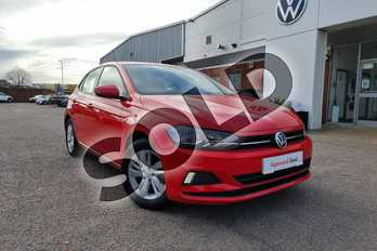 Volkswagen Polo 1.0 EVO SE 5dr in Flash Red at Listers Volkswagen Nuneaton