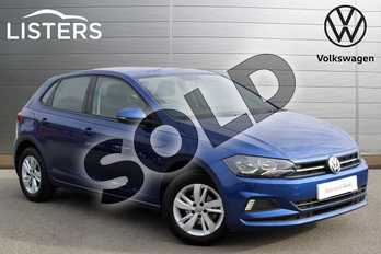 Volkswagen Polo 1.0 TSI 95 SE 5dr in Reef Blue at Listers Volkswagen Nuneaton