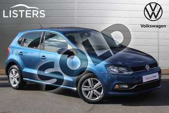 Volkswagen Polo 1.2 TSI Match Edition 5dr in Blue Silk at Listers Volkswagen Nuneaton