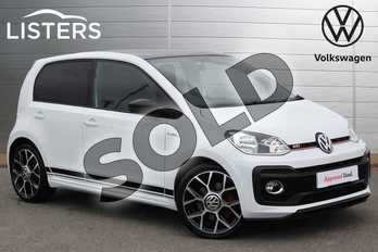 Volkswagen Up 1.0 115PS Up GTI 5dr in Pure White at Listers Volkswagen Nuneaton